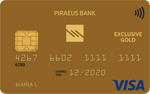 Piraeus Visa Exclusive Gold